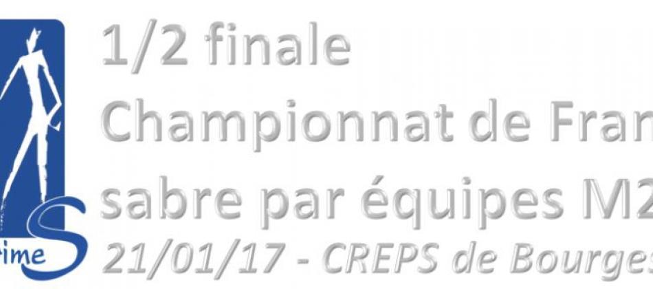 1/2 finale France éq M20 2017