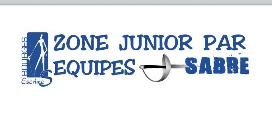 Zone sabre junior par équipes 2015